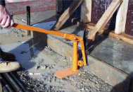 Jack Jaw Stake and Post Extractor